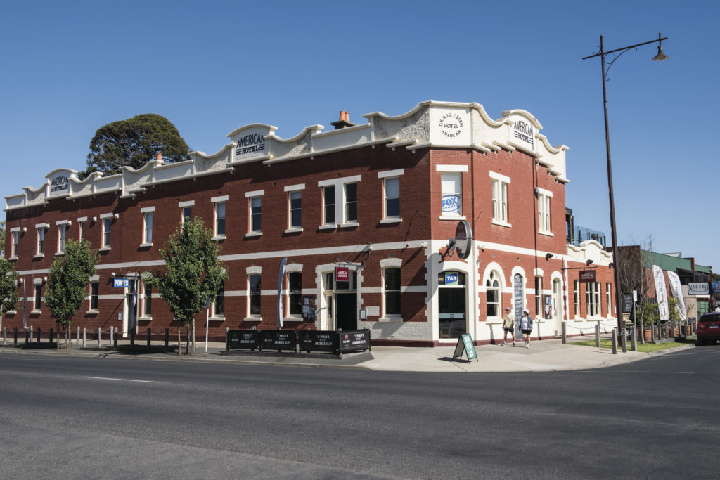 The American Hotel is one of the great pubs in Echuca, Victoria - stop here for a beer or a pub meal