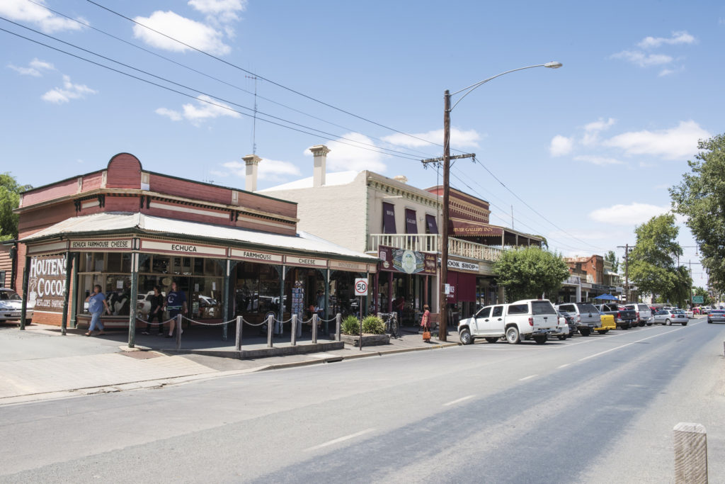 Echuca is a pretty country town in Victoria