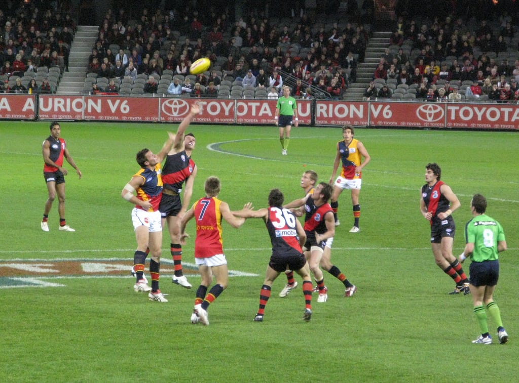 A game of footy is a Melbourne must do for sports fans