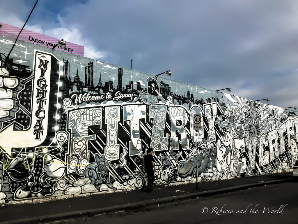 Every Melbourne itinerary should include some street art spotting - and Fitzroy has some great murals to check out