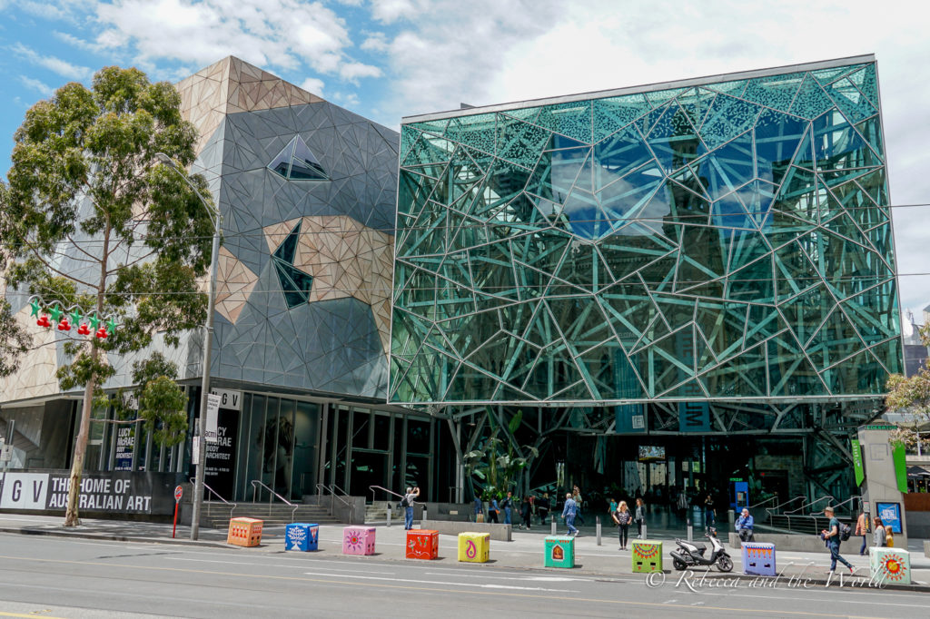 Federation Square in Melbourne is a great place to start your 3 days in Melbourne itinerary