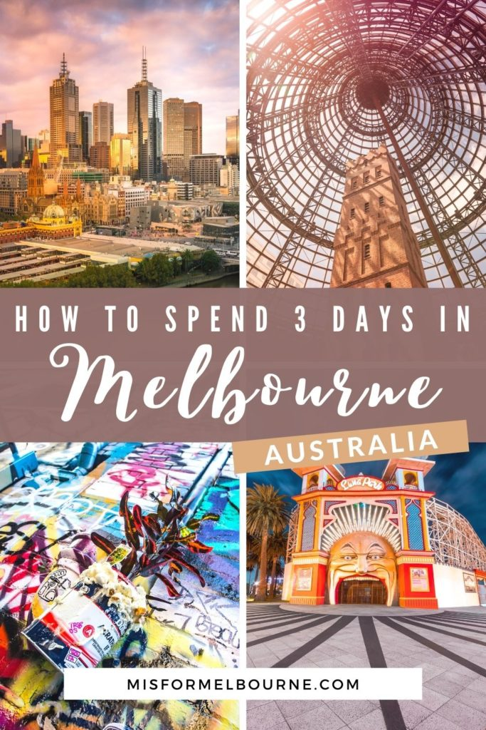 Only got 3 days in Melbourne? Check out this local's guide to the perfect Melbourne itinerary, covering the city's highlights and local gems. | Melbourne | Australia | Visit Melbourne | 3 Days in Melbourne | Melbourne Itinerary | Things To Do in Melbourne | What To Do in Melbourne | Melbourne Travel Guide