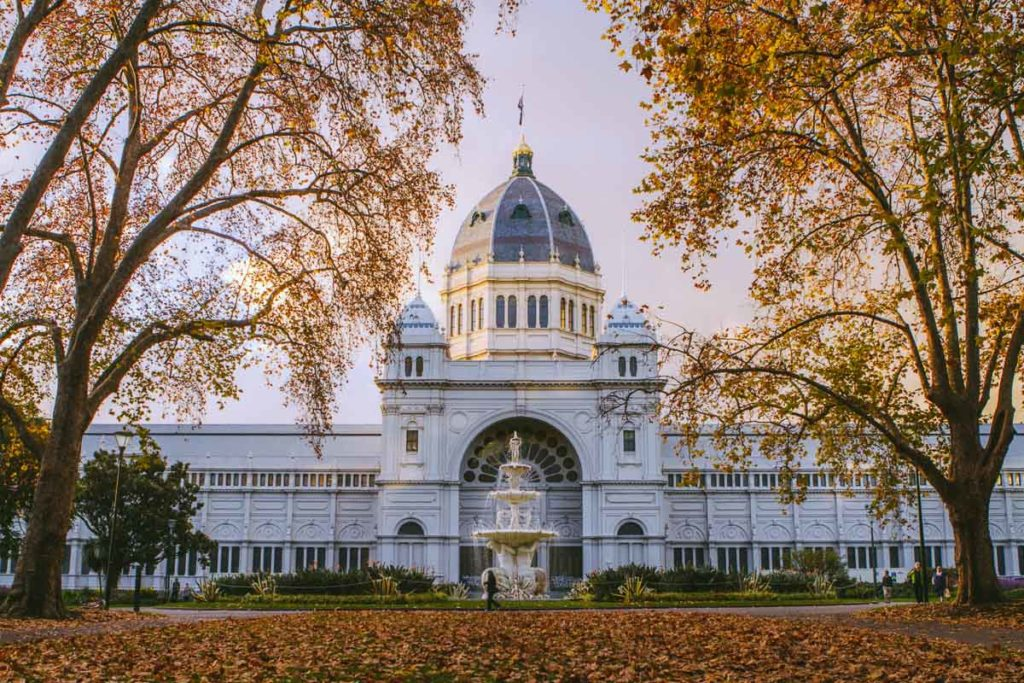 Autumn is a great time to visit Melbourne, with the leaves changing colour