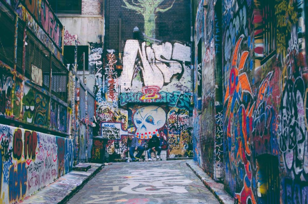 Melbourne is famous for its street art - wandering through the laneways is one thing you should add to your Melbourne bucket list