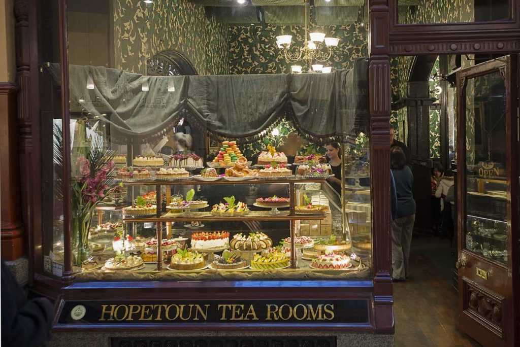 The Hopetoun Tea Rooms is an iconic place for high tea in Melbourne