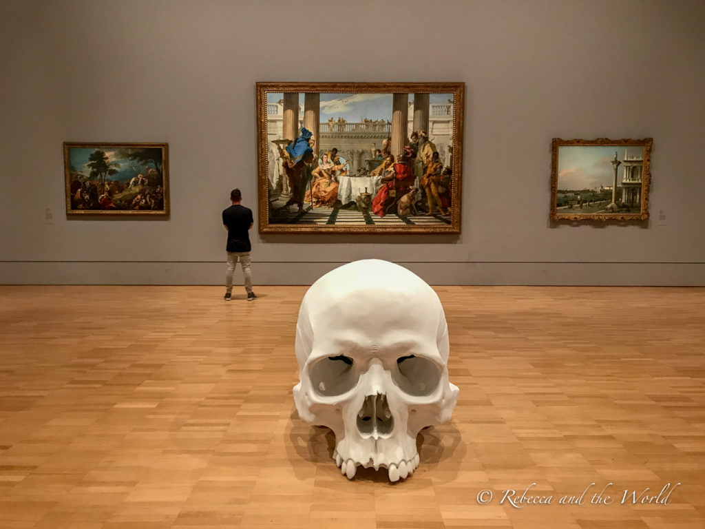 The National Gallery of Victoria is one of the must-visit Melbourne museums