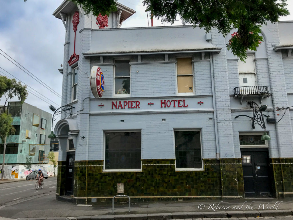 Check out one of the many pubs in Melbourne, Australia, for a beer or a classic Aussie pub meal