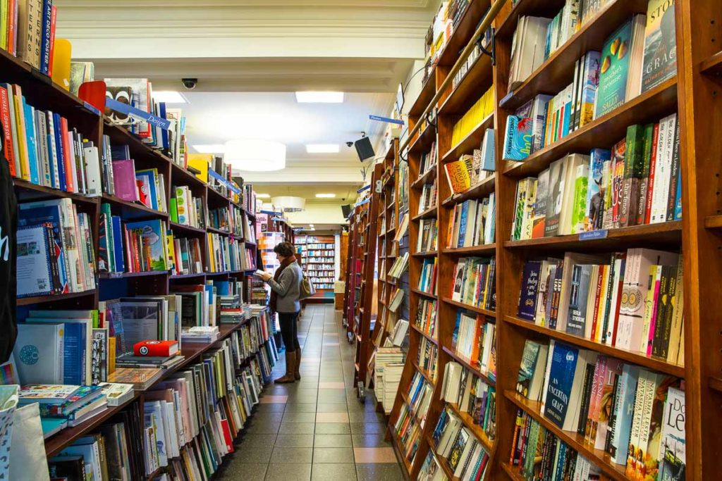 Readings is a huge bookstore in Carlton, Melbourne, that's an institution and one of the best places to go shopping in Melbourne, Australia