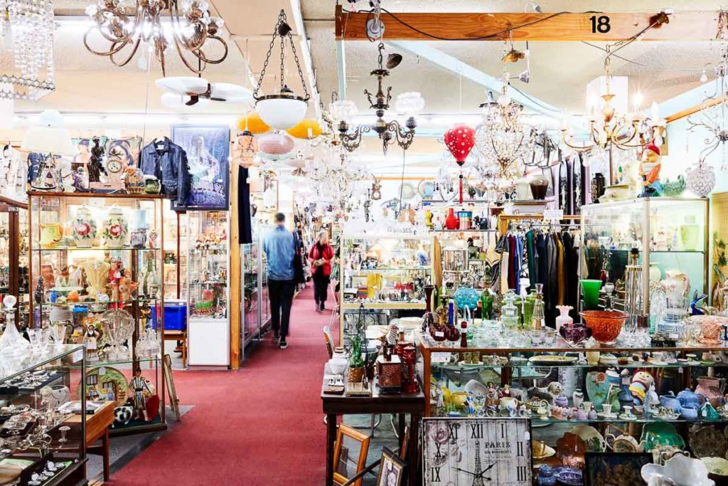 The Chapel Street Bazaar is a great place to find unique treasures when shopping in Melbourne, Australia
