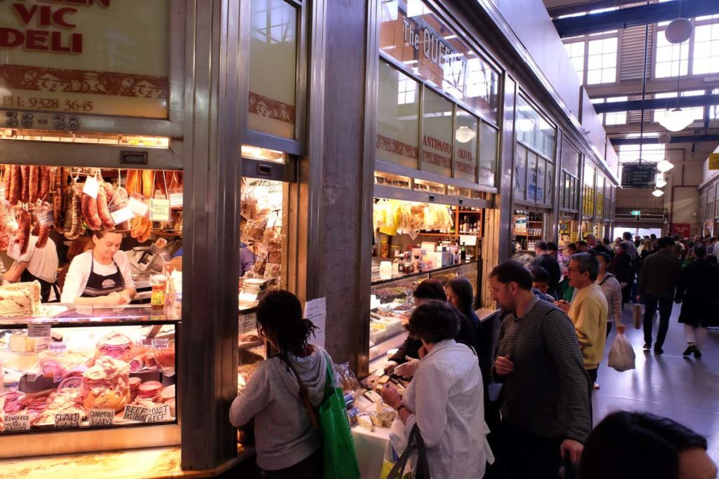 Visiting the Queen Victoria Market is one of the best things to do in Melbourne - explore the historic market and grab something to eat