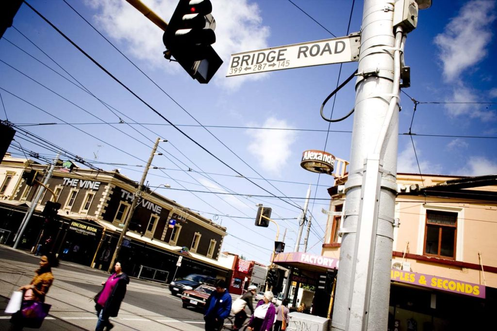Bridge Road in Richmond is one of the best places to go shopping in Melbourne, with a mix of factory outlets and unique boutiques