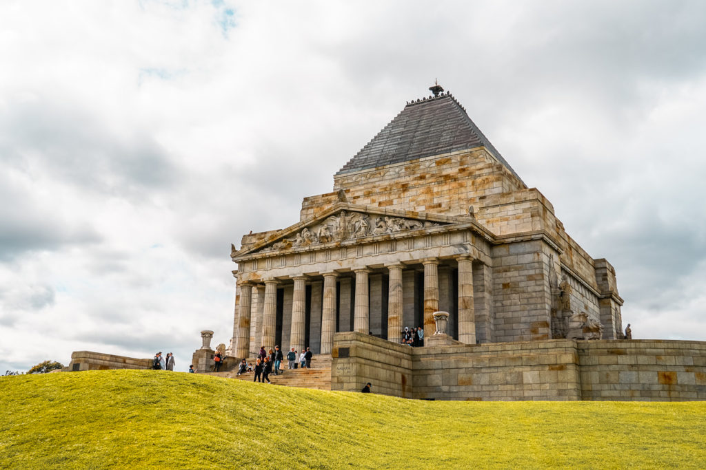 The Shrine of Remembrance is a sombre but worthwhile addition to your Melbourne itinerary