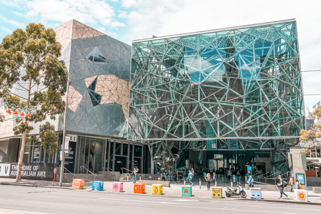 Fed Square is a great stop on your Melbourne 5 day itinerary