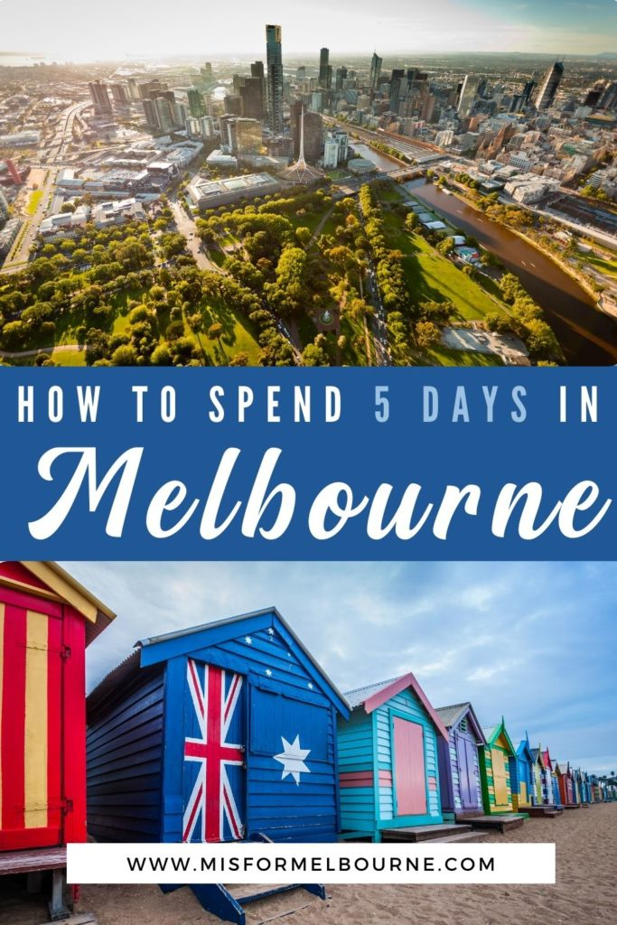 Got 5 days in Melbourne? This Melbourne 5 day itinerary will help you plan the perfect trip, with day-by-day recommendations. | Melbourne | Australia | Visit Melbourne | 3 Days in Melbourne | Melbourne Itinerary | Things To Do in Melbourne | What To Do in Melbourne | Melbourne Travel Guide | Melbourne Tourist Attractions