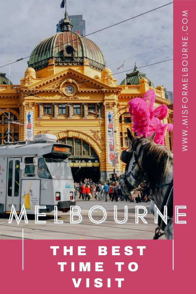Wondering when is the best time to visit Melbourne? This guide - from a local! - shares Melbourne weather season-by-season, pros and cons of each season, and the best Melbourne events so you can plan your trip! | Melbourne | Best Time to Visit Melbourne | When to Visit Melbourne | Melbourne Seasons | Melbourne Events | Melbourne Weather | Melbourne Temperature | Melbourne Australia | Visit Melbourne | Visit Australia | Things To Do In Melbourne | Australia Travel