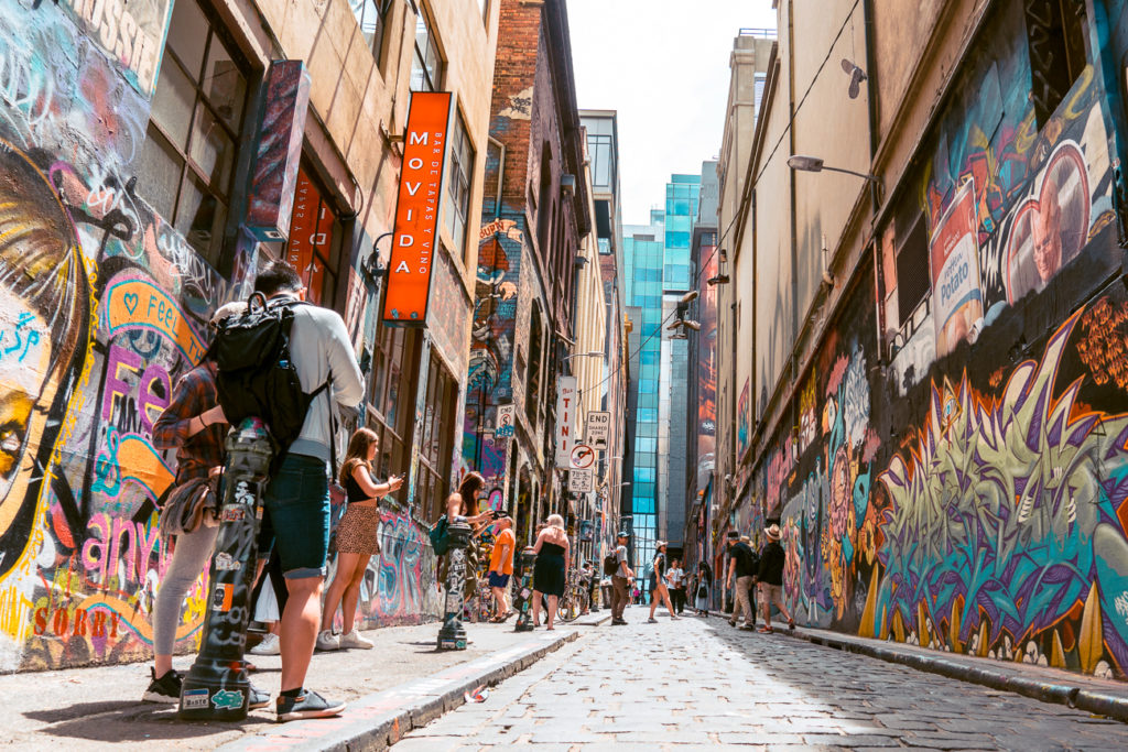 Street art in Melbourne is great to photograph - at no cost!