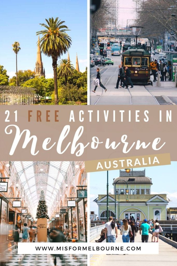 Looking to save money in Melbourne? This list of free things to do in Melbourne Australia will ensure a budget friendly trip to Melbourne! | Melbourne | Australia | Free Things To Do in Melbourne Australia | Melbourne Budget | Visit Melbourne | Melbourne Itinerary | Things To Do in Melbourne | What To Do in Melbourne | Melbourne Travel Guide | Melbourne Tourist Attractions