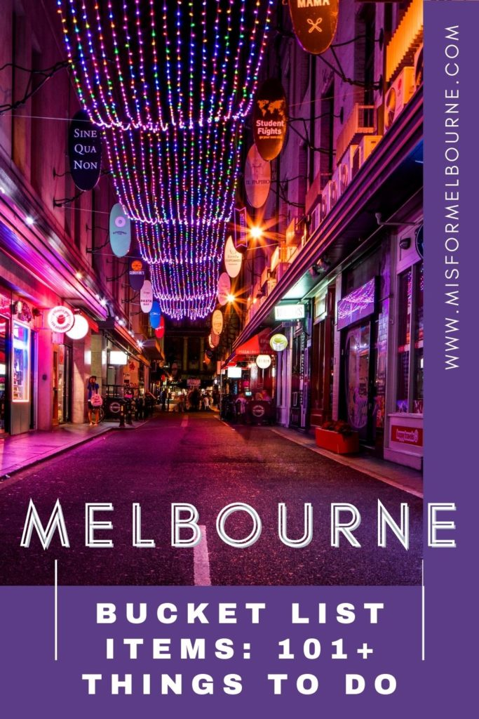 Whether you're just visiting Melbourne for a few days, or you've lived in the city for years, you'll find plenty of things to do with this huge Melbourne bucket list! | Melbourne | Melbourne Australia | Australia | Visit Melbourne | Melbourne Things To Do | Melbourne Bucket List | Visit Australia | What To Do in Melbourne