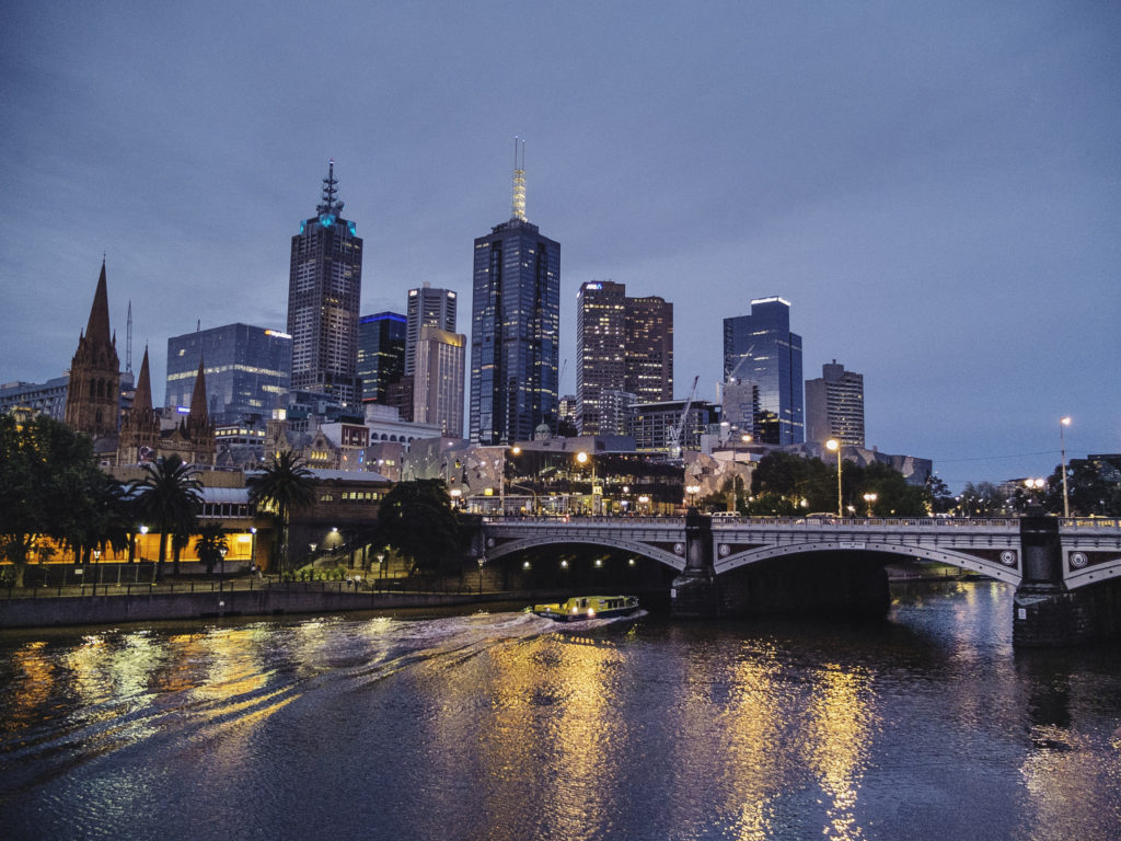 Explore Melbourne at night by testing out your photography skills