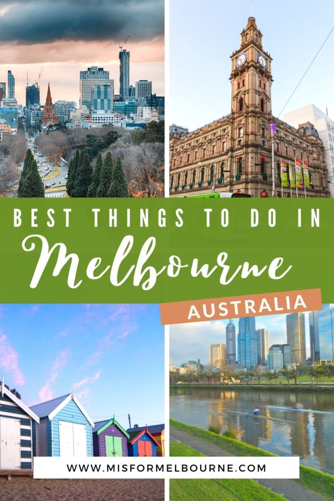 Melbourne, Australia, is one of the coolest cities in the world. But it can be overwhelming to figure out what to add to your Melbourne itinerary. Here, a local shares her tips for the best 25 things to do in Melbourne, from street art to trendy bars to parks to culture. Read on and save this post for when you visit Melbourne! | Melbourne | Things To Do in Melbourne | What To Do in Melbourne | Visit Melbourne | Visit Australia | Melbourne Travel Guide | Australia Travel | Melbourne Travel