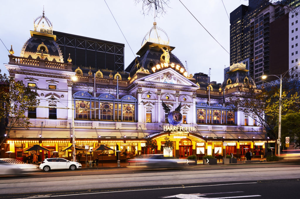 Seeing a show is one of the best things to do in Melbourne at night - and the Princess Theatre is a beautiful place to enjoy a performance