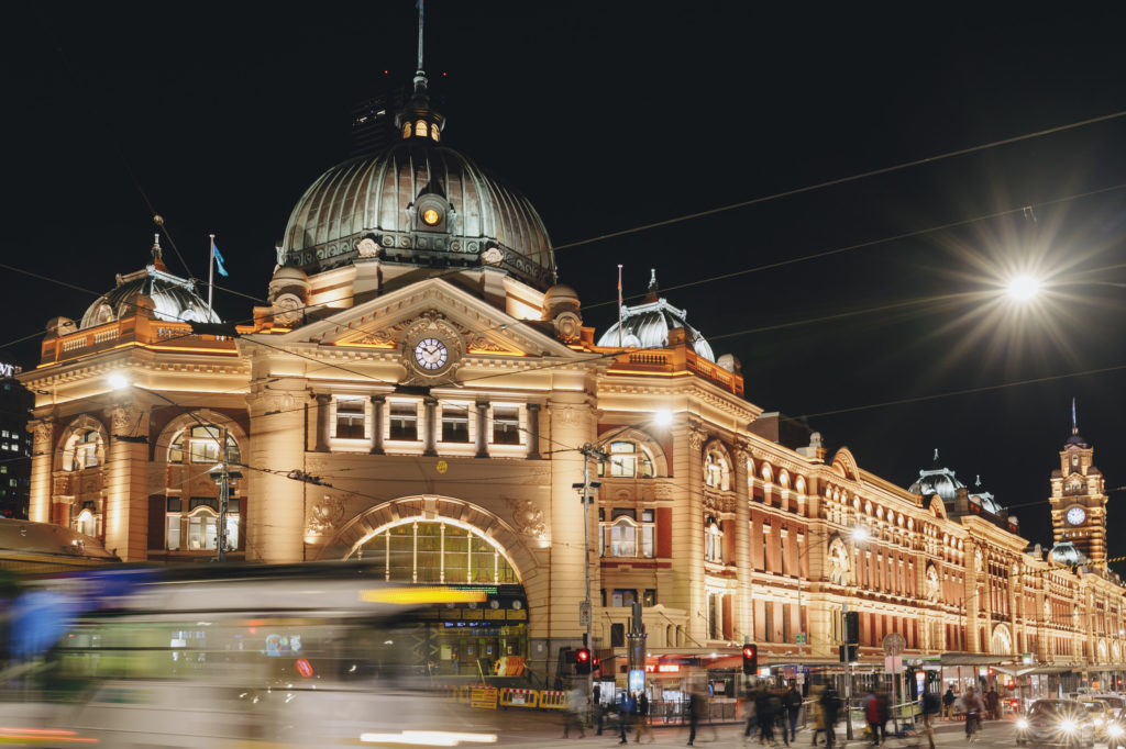 Melbourne is beautiful at night - and there's plenty to keep you entertained