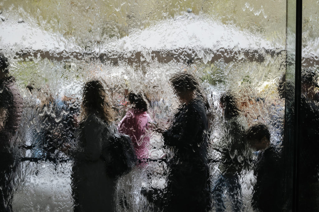 Exploring the art at NGV International is one of the best things to do in Melbourne when it rains