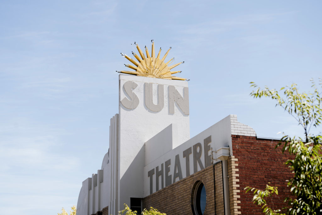 The Sun Theatre in Yarraville is one of Melbourne's most beautiful cinemas