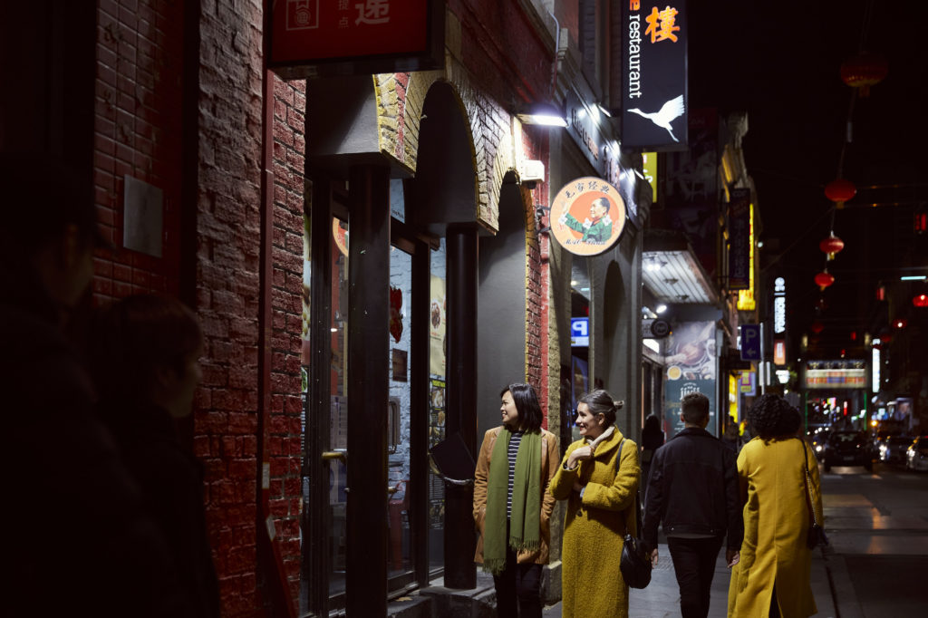 Check out the laneways and streets of Melbourne and find a cute bar to stay cosy in.