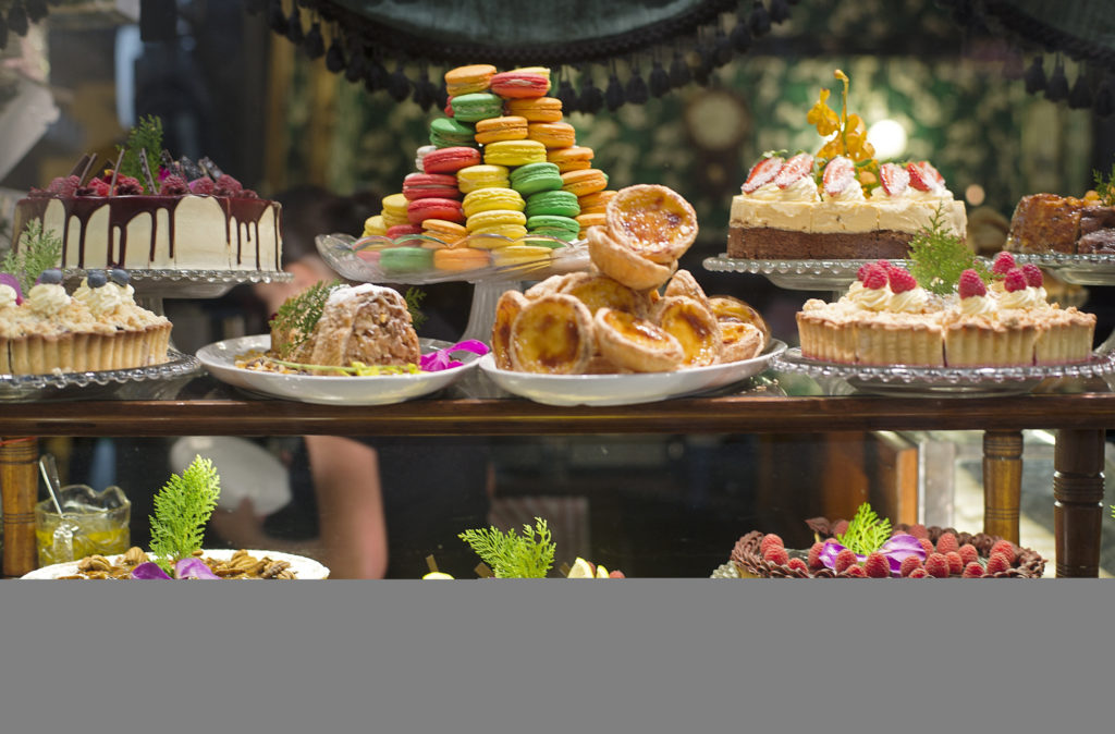 High tea is a great way to stay warm inside during winter in Melbourne.