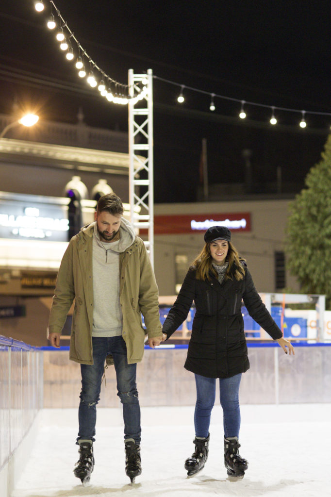 There are a couple of ice skating rinks in Melbourne - a fun winter activity in Melbourne for the whole family.