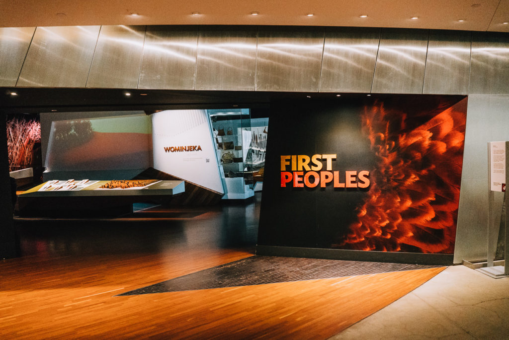 One of the top Indigenous Melbourne experiences is the Bunjilaka Aboriginal Cultural Centre at the Melbourne Museum